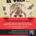 SEWORLD International Conference: Managementul comportamentelor inadecvate la copiii cu autism şi alte dizabilitati (pentru parinti si specialisti) | 4-6 aprilie, Bucuresti