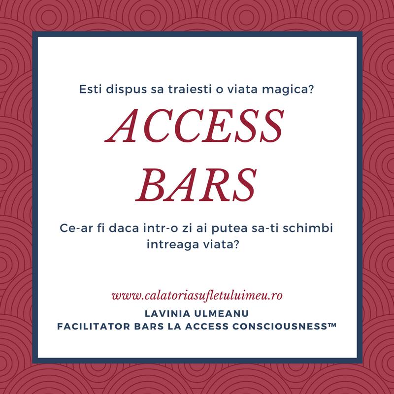 BUCURESTI, TARGOVISTE, IASI | Cursuri Access Bars® - mai, iunie 2018