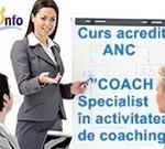 Formare: Coach - specialist in activitatea de coaching (Centrul Ram Info) - 2016, Bucuresti