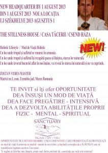 The Stillness House (Casa Tacerii) – Terapii complementare – Targu Mures