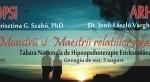 Tabara nationala de hipnopsihoterapie ericksoniana - 3-8 august 2015, Geoagiu de Sus