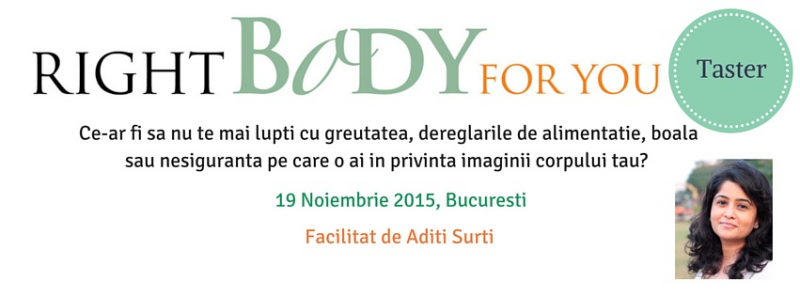 Right Body For You. Taster (Corpul corect pentru tine. Taster)