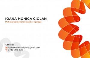 Cabinet Individual de Psihologie Ciolan Ioana Monica – Psihoterapie ericksoniana si hipnoza clinica – Iasi