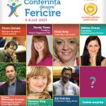 Conferinta despre Fericire | Bucuresti, 5-6 octombrie