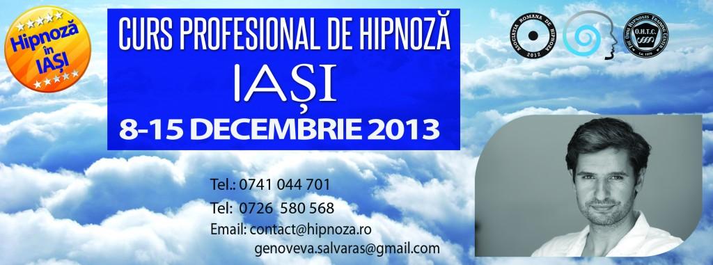 Training Profesional de Hipnoza Iasi 2013