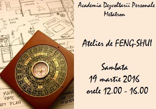 Atelier de feng shui (cu Georgeta Pana) - Bucuresti
