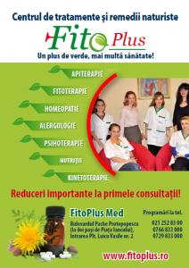 Centrul de Tratament si Remedii Naturiste Fitoplus – Psihoterapie  / Fitoterapie / Homeopatie / Nutritie / Reflexoterapie / Kinetoterapie – Bucuresti