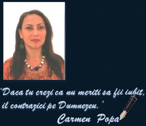 Carmen Popa – Psihoterapeut / Trainer – Bucuresti